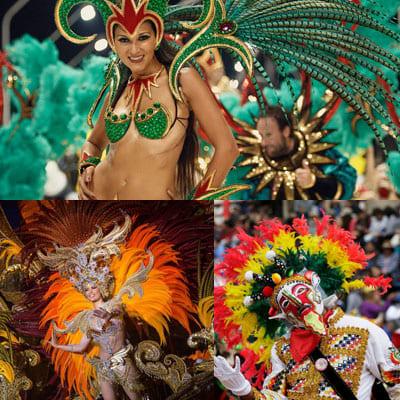 Семь лучших карнавалов мира.